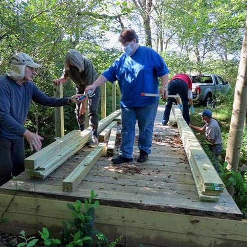 Giving Back - Trail Workers